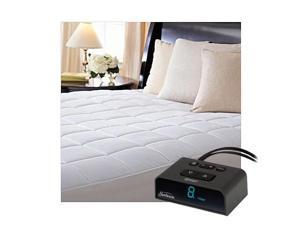 Sunbeam MSU4BTS-D000-43A66 ComfortTec Quilted Heated Electric Mattress Pad Twin