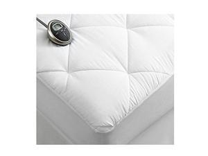 Sunbeam Premium Luxury Quilted Electric Heated Mattress Pad - Full Size