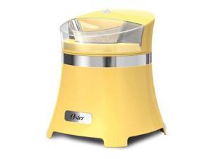 Oster FRSTIC-GC0-YLW 1.5 Qt Gel Canister Soft Serve Ice Cream Maker Yellow