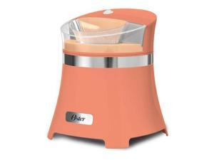 Oster FRSTIC-GC0-PNK 1.5 Qt Gel Canister Soft Serve Ice Cream Maker Pink