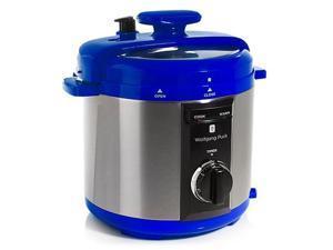 Wolfgang Puck BPCRM800 Automatic 8-quart Rapid Pressure Cooker, Blue