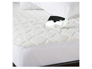 Biddeford 5303-9051128-100 Quilted Sherpa Electric Heated Mattress Pad King