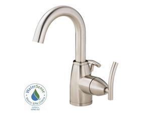 Danze I D221544BN Sirius 4 in. Single-Handle Bathroom Faucet in Brushed Nickel with Side Handle