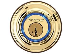 KWIKSET CORPORATION 925-3 KEVO LOCK ELECTRONIC KEYFOB POLBRSS Finish=Polished Br