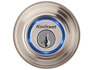 KWIKSET CORPORATION 925-15 KEVO LOCK ELECTRONIC KEYFOB SAT NIC Finish=Satin Nick