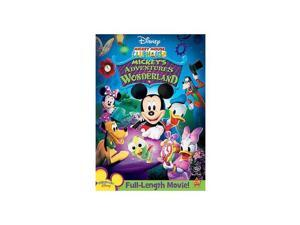 MICKEY MOUSE CLUBHOUSE ADVENTURES IN WONDERLAND (DVD/WS 1.78/DD 5.1/SP-FF-B