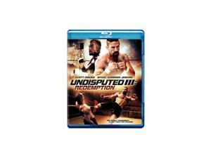 UNDISPUTED 3-REDEMPTION (BLU-RAY/DVD/DCOD/COMBO)