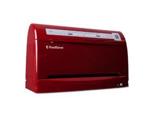 FoodSaver FSFSSL3461-035 / V3461 Food Vacuum Sealer, Cinnamon Red