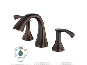 Danze D304022BR Antioch 8 in. Widespread 2-Handle Low-Arc Bathroom Faucet in Tum