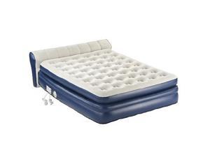 """Aerobed 2000011983 18"""" Elevated Queen Airbed Inflatable Mattress Built in Pump"""