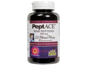 PeptACE Peptides 500MG - Natural Factors - 90 - Capsule