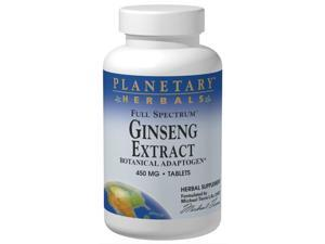Planetary Herbals, Full Spectrum Ginseng Extract 450 mg 90 Tablets