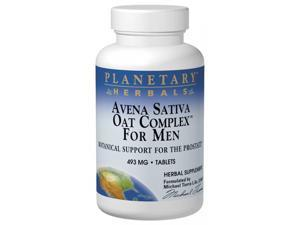 Planetary Herbals, Avena Sativa Oat Complex for Men 480 mg 100 Tablets