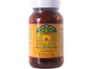 Pure Planet, Red Marine Algae Plus 500 mg 90 Capsules