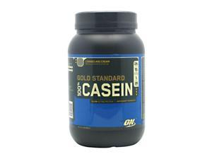 100% Casein Protein, Cookies and Cream, 2 lbs, From Optimum