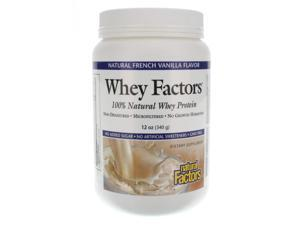 Whey Factors French Vanilla - Natural Factors - 12 oz - Powder
