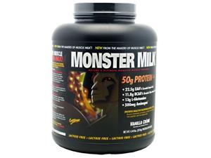 Monster Milk Vanilla Creme 4.44 lbs (2016 g)