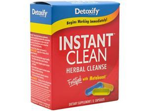 Detoxify               Instant Clean Herbal Cleanse 3 Capsules