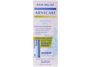 Boiron Arnicare Arnica Gel & Blue Tube Value Pack 2.6 oz