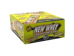 New Whey Nutrition New Whey Liquid Protein Orange 12 - 3.4 fl oz (100 ml) tubes