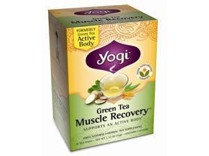Yogi Green Tea Muscle Recovery 16 Tea Bags