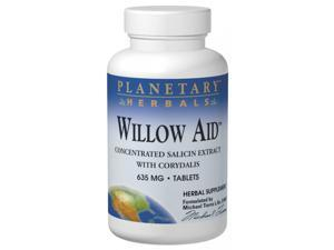 Planetary Herbals Willow Aid 635 mg 30 Tablets