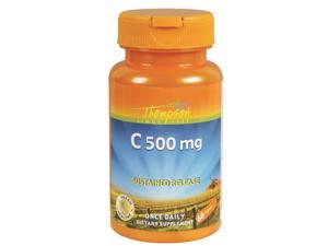 Buffered C with Calcium Ascorbate 500mg - Thompson - 60 - Tablet