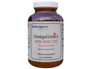Metagenics OmegaGenics EPA-DHA 720, 240 Softgels