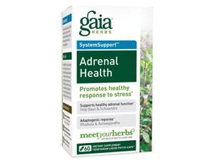 Adrenal Health Daily Support - Gaia Herbs - 60 - VegCap