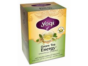 Green Tea Energy - 16 Tea Bags by Yogi Tea