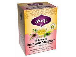 Yogi Echinacea Immune Support Tea 16 Tea Bags