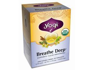 Yogi Breathe Deep Tea 16 Tea Bags