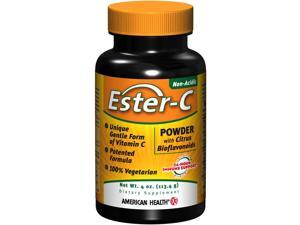 Ester-C Powder with Citrus Bioflavonoids - American Health Products - 4 oz - Powder