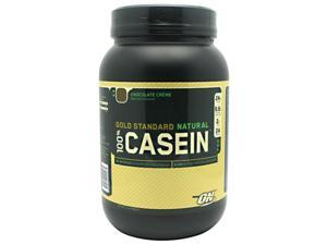 100% Natural Casein Protein, Chocolate Creme, 2 lbs, From Optimum Nutrition