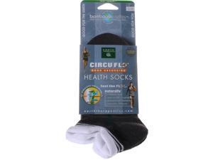 Earth Therapeutics CircuFlo Odor Absorbing Health Socks Small/Medium 1 Pair