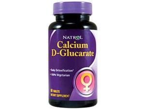 Calcium D-Glucarate 250mg - Vegetarian - Natrol - 60 - Tablet