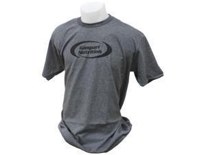 Gaspari Nutrition Charcoal Grey and Black Large T-Shirt