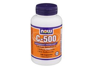 C-500 ASCORBATE - Now Foods - 100 - Capsule