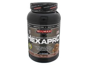 ALLMAX Nutrition, HexaPro Chocolate 3lbs