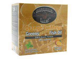 Controlled Labs Orange OxiMega-Fish & Greens Formula Citrus 1 Kit