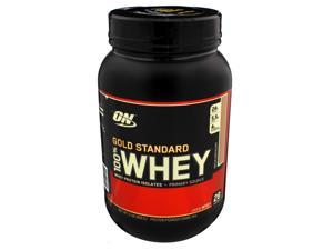 Gold Standard 100% Whey Mocha Cappuccino - 2 lb (909 Grams) by Optimum Nutritio