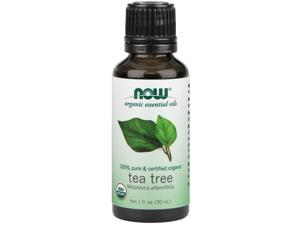 Now Foods, Organic Tea Tree Oil 1 fl oz