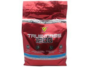 BSN, True Mass 1200 Vanilla Ice Cream 10 lbs