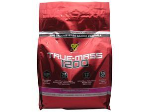 BSN, True Mass 1200 Strawberry Milkshake 10 lbs