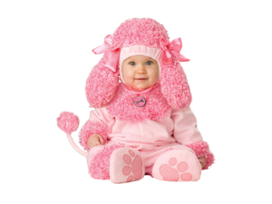 Pink Precious Poodle Costume