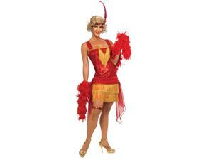 Red Cotton Club Flapper Costume