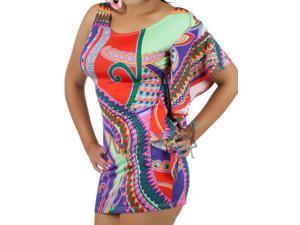 One Shoulder Mod 60's Salsa Dress