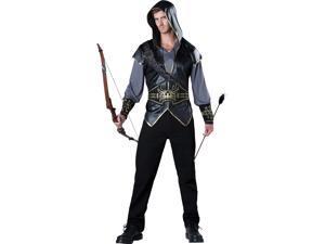 Hooded Huntsman Archer Adult Mens Costume