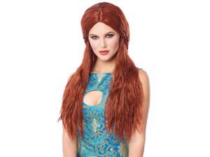 Red Barbarian Bride Wig