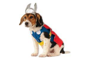 Dog Superhero Thor Costume